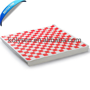 Printed Food Wrapping mg White Sandwich Paper