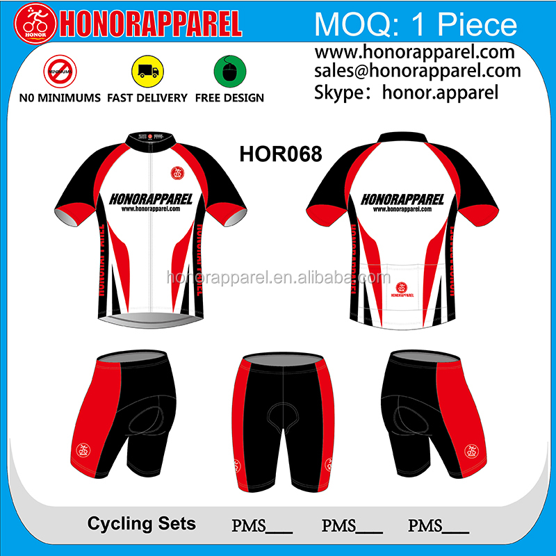 Free design! Short Sleeve Custom funny cycling jerseys road bike jersey custom cycling wear