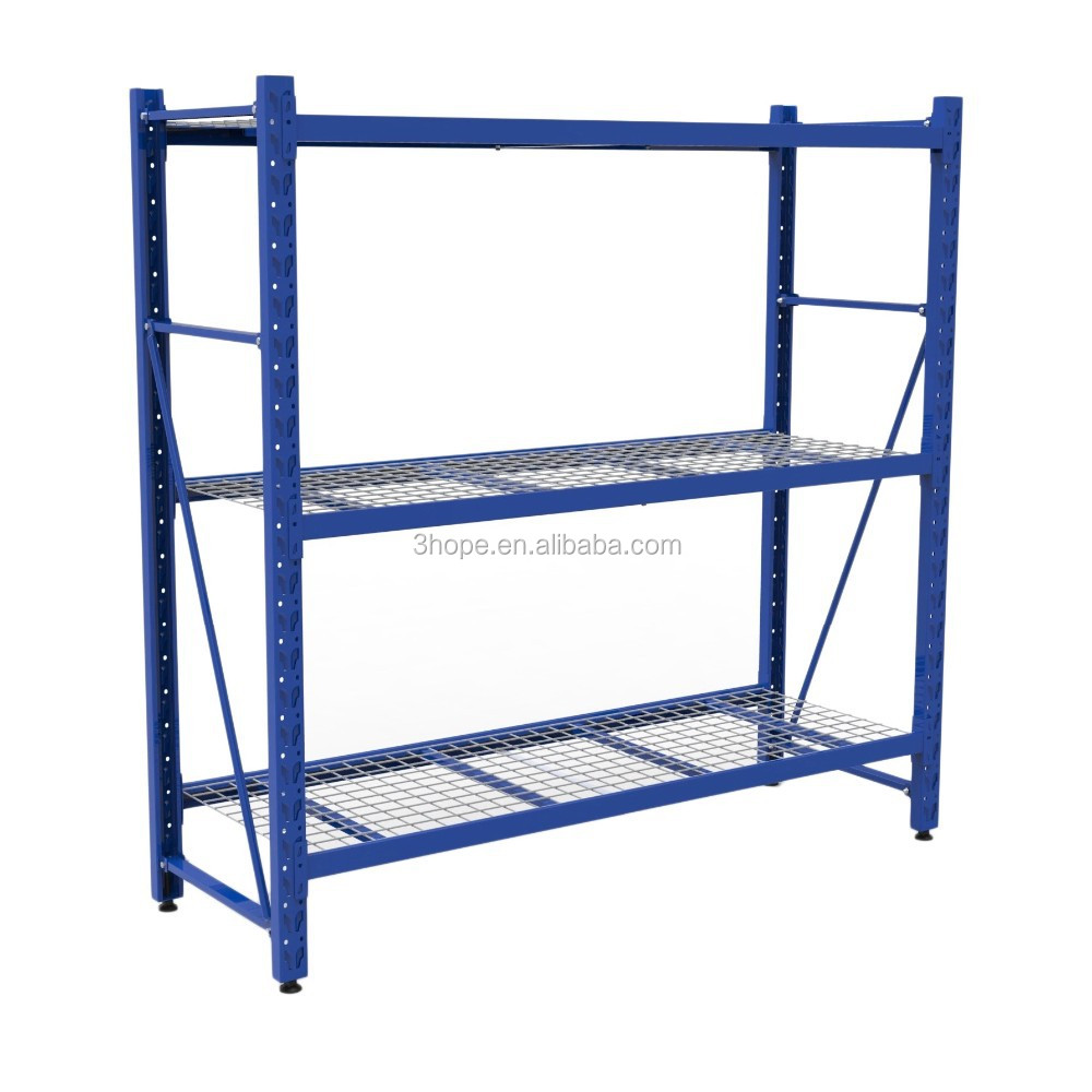 Metal shelving racks and storage shelves for warehouse,racking systems used for garage, warehouse, retail, commercial, industria