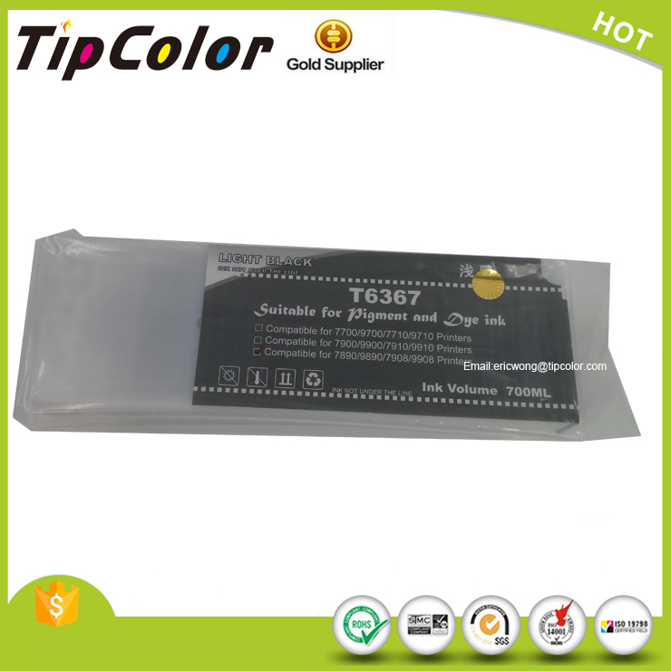 Compatible Epson 7700 9700 T6361 T6362 T6363 T6364 T6365 T6366 T6367 T6368 T6369 Ink Cartridge