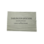 Custom Logo Printed On Microfiber Glasses Cleaning Cloth