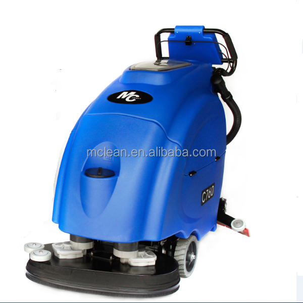Chinese best automatic industrial floor scrubber dryers C760 for supermarket,warehouse,hotel cleaning