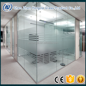 19mm 22mm 25mm tempered glass with acid etched lines