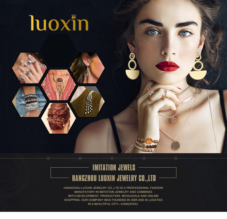 2019 Fashion Zircon Rings Jewellery and Gold Plated Classic Design Mood Ring