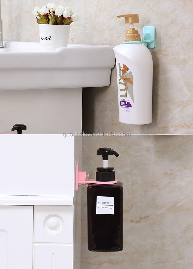 Single Bathroom Plastic Wall-mounted Soap Shampoo Holder With ...