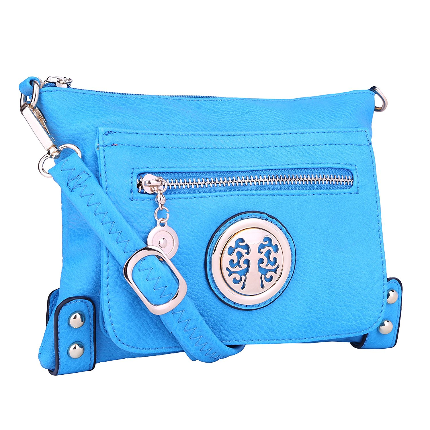 Cheap Fossil Crossbody Bag Find Deals On Line Tessa Satchel Blue Get Quotations Purse Multiple Pocket With Adjustable Shoulder