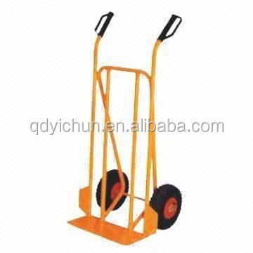 hand trolley with diamond toe plate