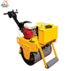 Single drum walking behind vibro small mini road roller price for sale