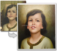 Hand painted Customized Oil Paintings from realistic photo