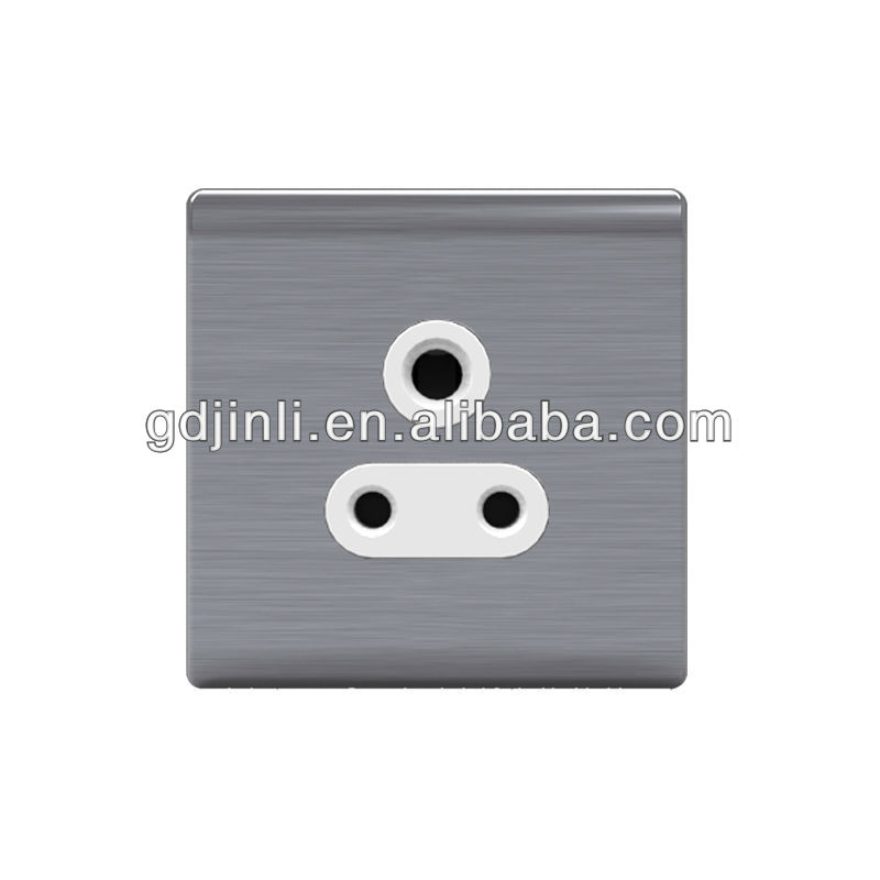 W83A Series -- 1 gang 5A three round pin socket