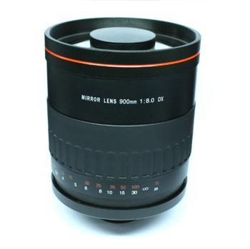 900mm F8 Reflex Mirror Lens T Mount For Nikon Dslr Camera