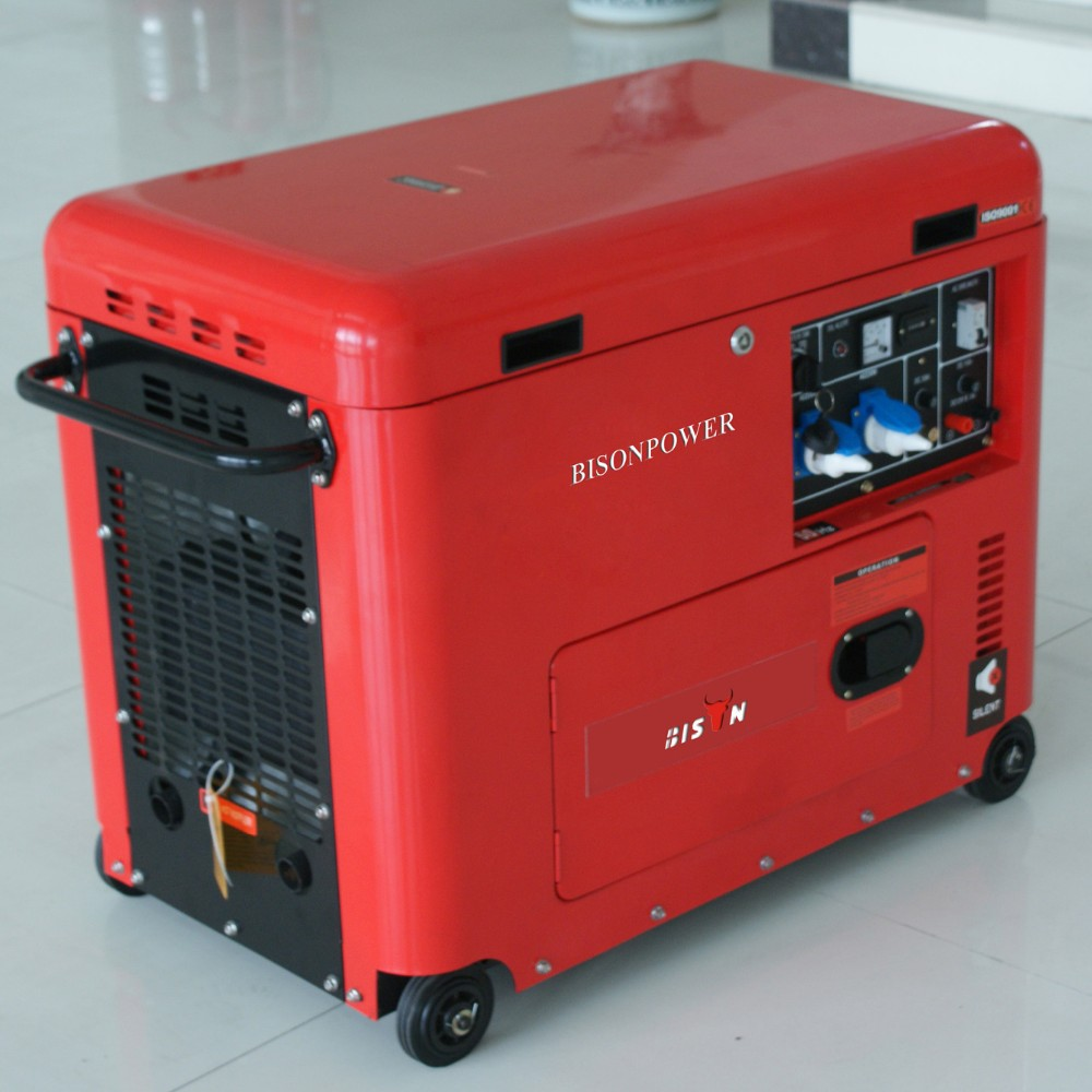 Bison China Taizhou 3 Phase Electric Start Portable Air-cooled ...