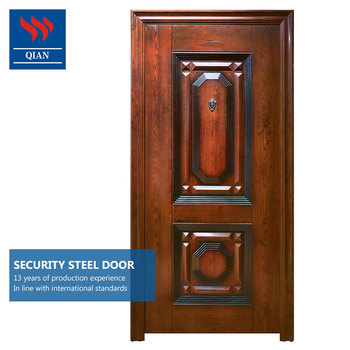 Delicieux Wear Resisting Home Depot Metal Security Doors High Security Steel Interior  Exterior Safe Door