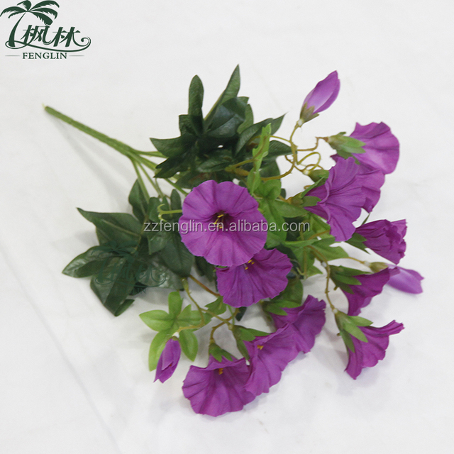 Blue orchid silk flowers source quality blue orchid silk flowers cheap silk morning glory flower wholesale artificial flower for home decoration mightylinksfo