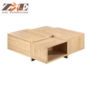 Foshan Usine Moderne En Bois Table Basse Fonctionnelle Conception Buy Table Basse Moderne De Haute Qualite Conception De Table Basse Conceptions De