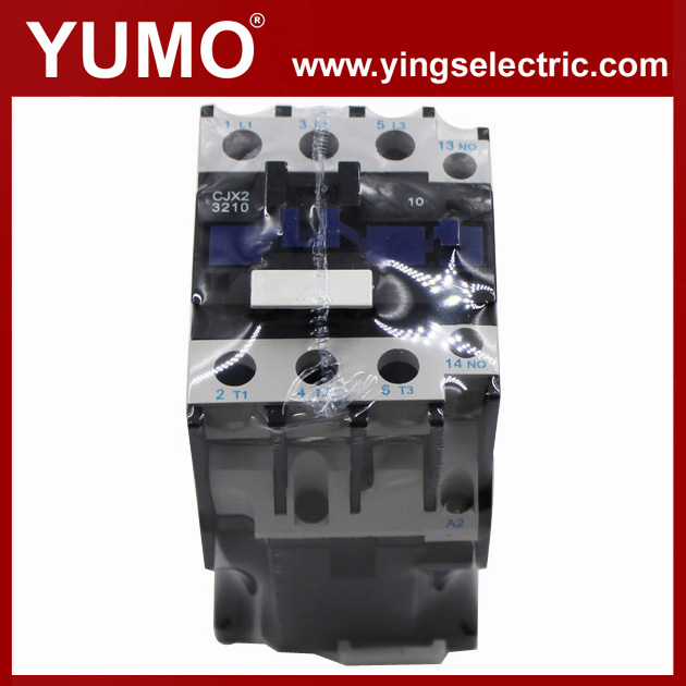 CE certificate CJX2 series 3P 24VDC 230V manufacturer silver alloy electrical contacts copper lc1 d115 ac contactor