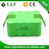 Manufacturer SC3500 14.4V nimh battery pack for intelligent robot vaccum