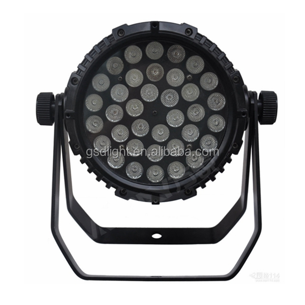 Cheap 36x3w LED power par can light Waterproof IP65 DJ outdoor LED Stage Lights