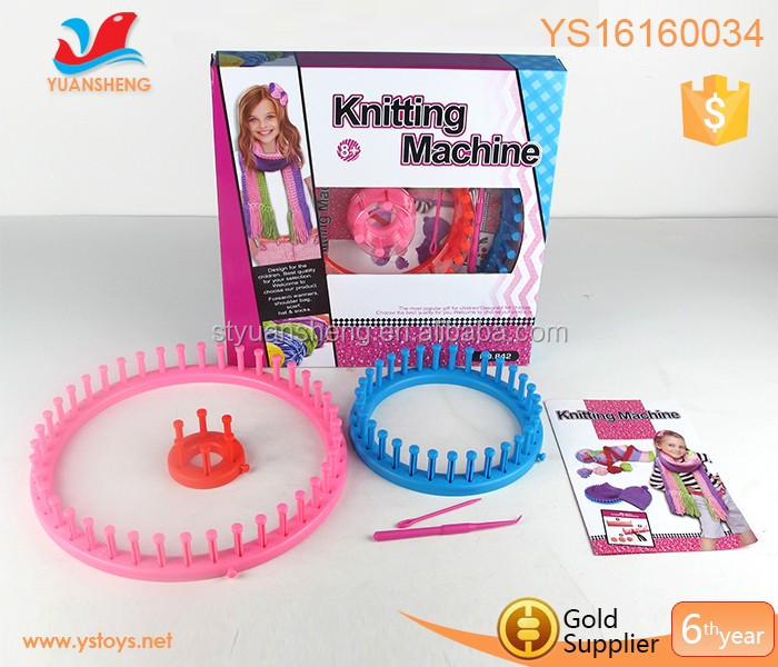 Diy craft kit for adults knitted hat and scarf plastic for Craft kit for adults