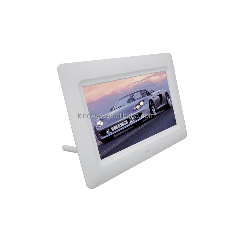 Perfect Choice for present led light video high resolution plastic photo frame