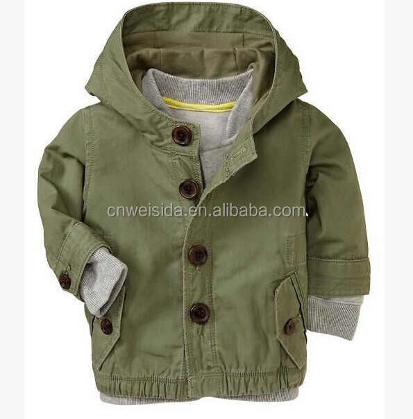 2014 boys washed fashion 2pcs coat