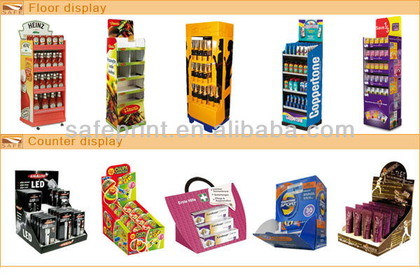 expenses of promoting sales by displaying and advertising merchandise