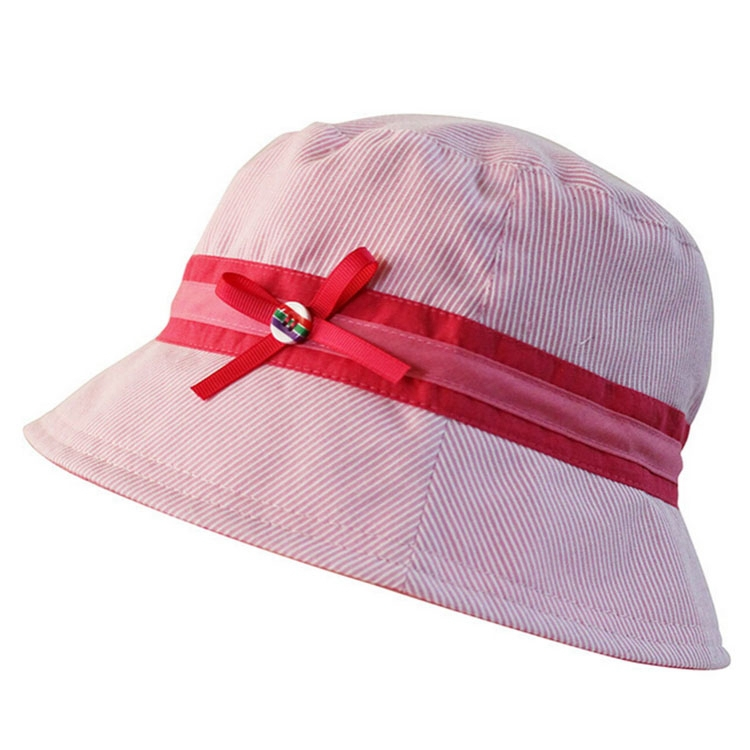 a3fa5ca06d6 Get Quotations · 54cm 100% Cotton Autumn Kids Fishing Hat Cute Pink Bucket  Hats For Girls