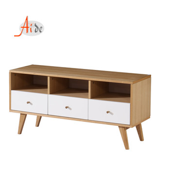 2019 New design fashion luxury wood mdf television stand tv unit  for hall