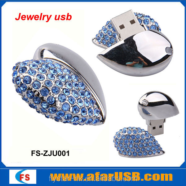 Wedding gift Ring jewelry diamond USB Flash Drive 2GB 4GB 8GB 16GB 32GB 64GB