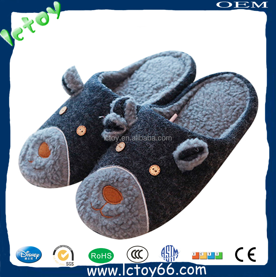 Customized Cheap Personalized Warm Winter Slippers