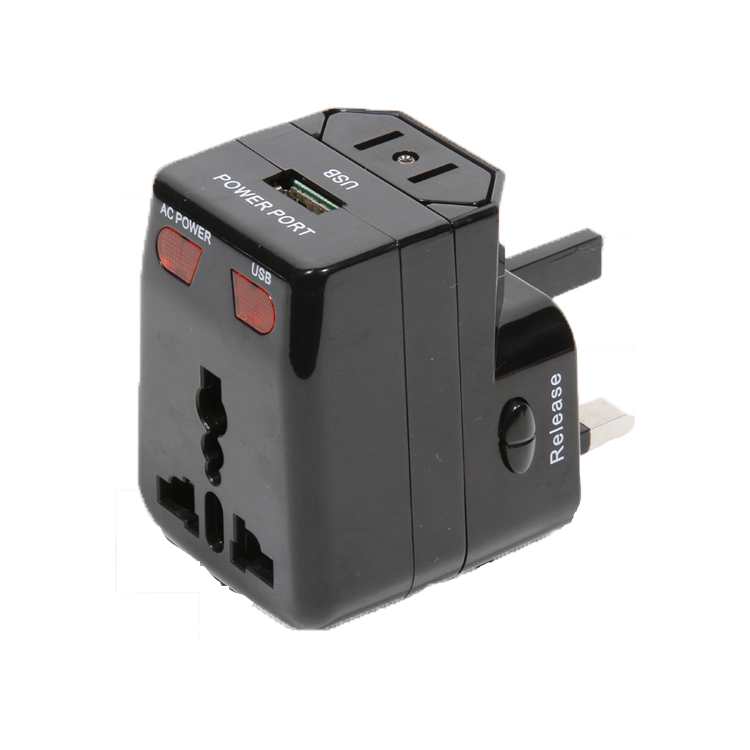 Travelsky All in one universal worldwide international travel adapter plug with usb port