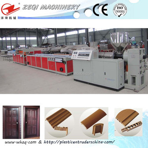 PVC WPC Door Frame extrusion Making Machine