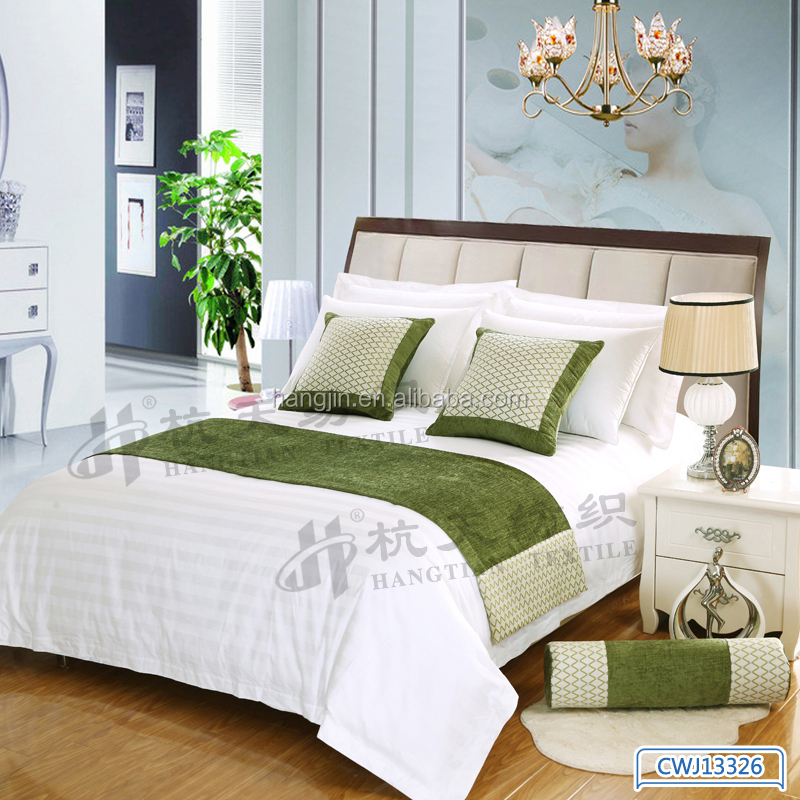 European Style Comfortable Bed Runner Durable Bed Linen