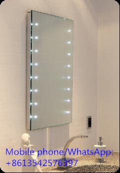 Bathroom Wash Basin Led Touch Screen Mirror