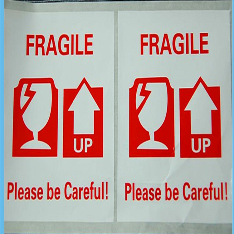 Packing warning labels FRAGILE shipping mailing handle with care stickers