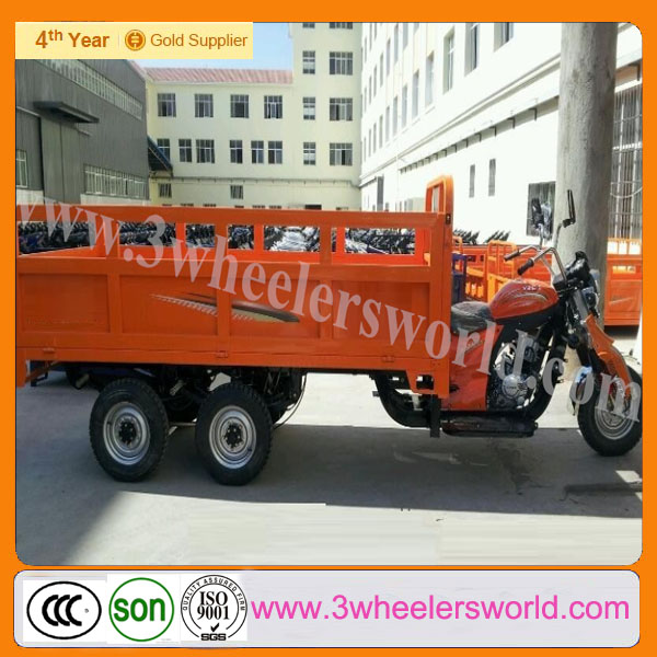China 2014 new design load 3 ton cargo tricycle with seven big wheels for adults/ wholesale used mini truck/300cc trike scooter