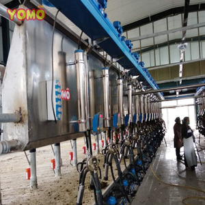 YOMO dairy farm equipment automatic cow milking machine Parallel milking parlor