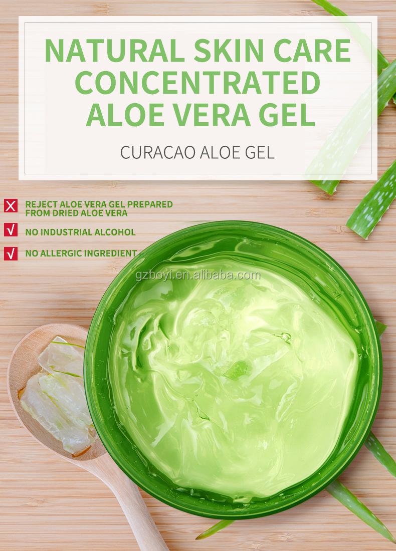Migliore di Vendita Natura Organico Lenitiva Umidità Aloe Vera Gel OEM/ODM