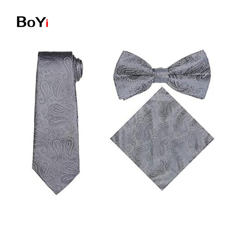 Fashion Men Four Pieces Formal Paisley Vest Set