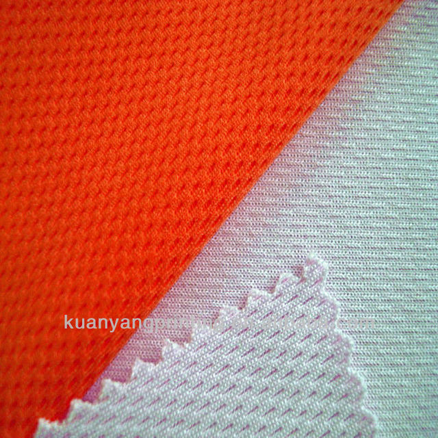 DTY mesh knit fabric textile lining