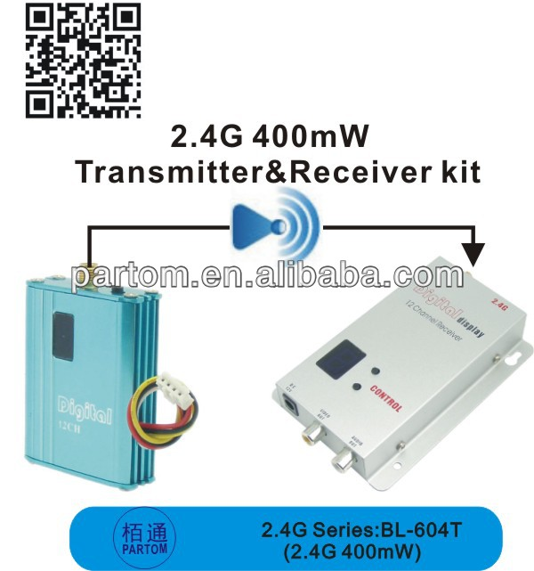 2.4G 400mW video transmitter professional