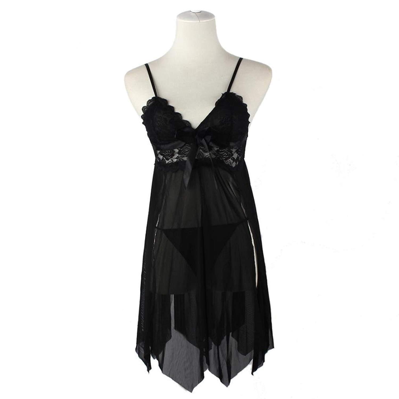 3ee551bab8b34 Get Quotations · BUYEONLINE Sexy Lingerie Women S Underwear Sleepwear Lace  Dress G-String Nightwear