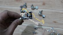 chrome electric guitar locking tuner peg jinho locking tuner peg high quality hardware for wholesale