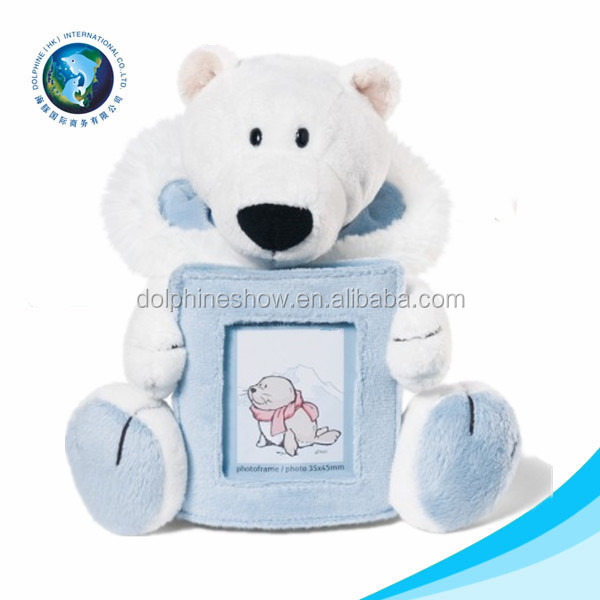 2015 Cute Promotional Cheap Stuffed Animal Plush Picture Love Photo