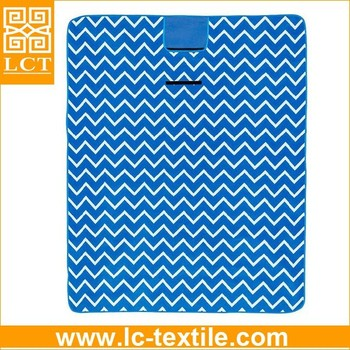 Popular Essential Outdoor Customized Pattern Designs Advailabe Interesting Picnic Blanket Pattern