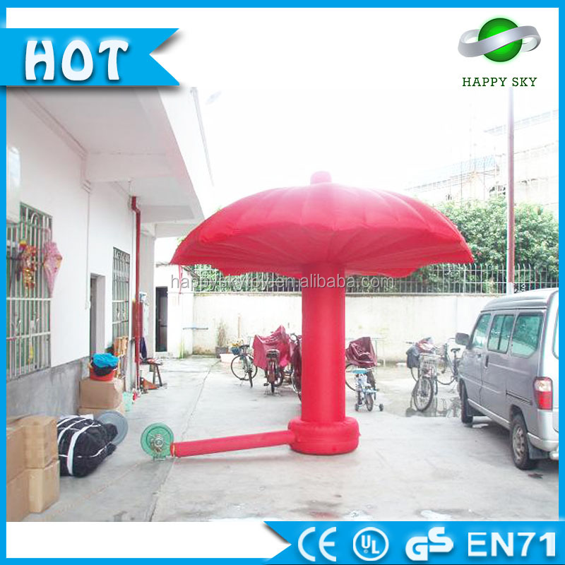 Names cute cartoon character,umbrella inflatable,cusstom shaped inflatable