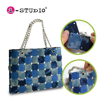 New fashion toy DIY handy jeans purse for girls handbag