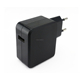 Qualcomm QC2.0 USB Home/Wall/Travel Charger Adapter with EU Plug