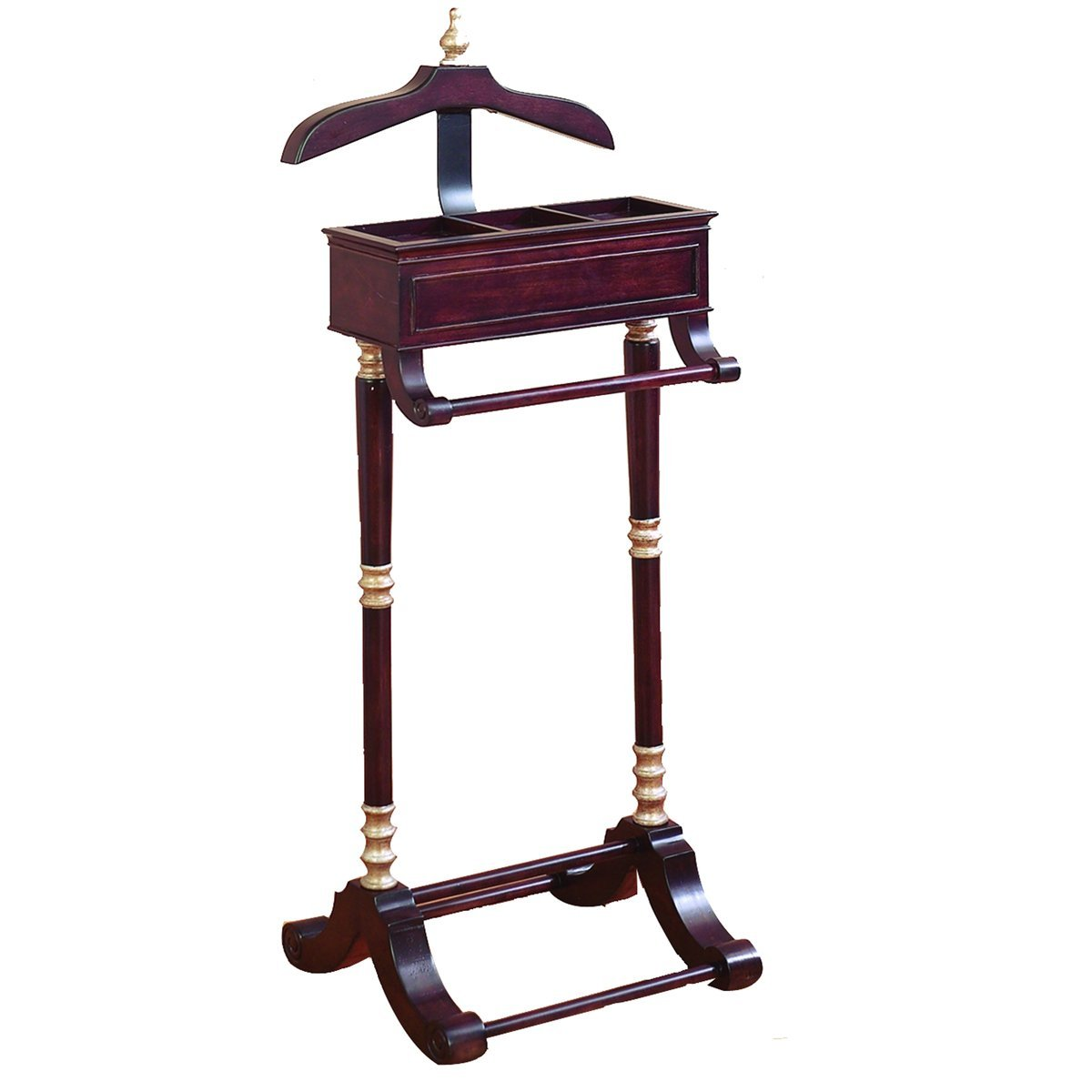 Buy Urban Designs Cherry Butler Valet Stand Clothing Rack in Cheap
