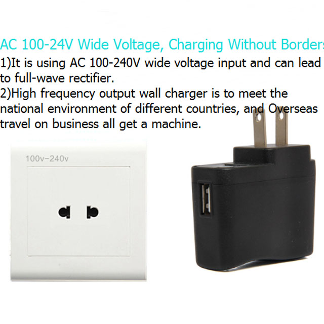 Dc 1a Usb Port Travel Wall Charger Mounted Cigarette Lighter 12v - Buy Wall  Mounted Cigarette Lighter,Travel Charger 12v,Usb Port Wall Charger Product